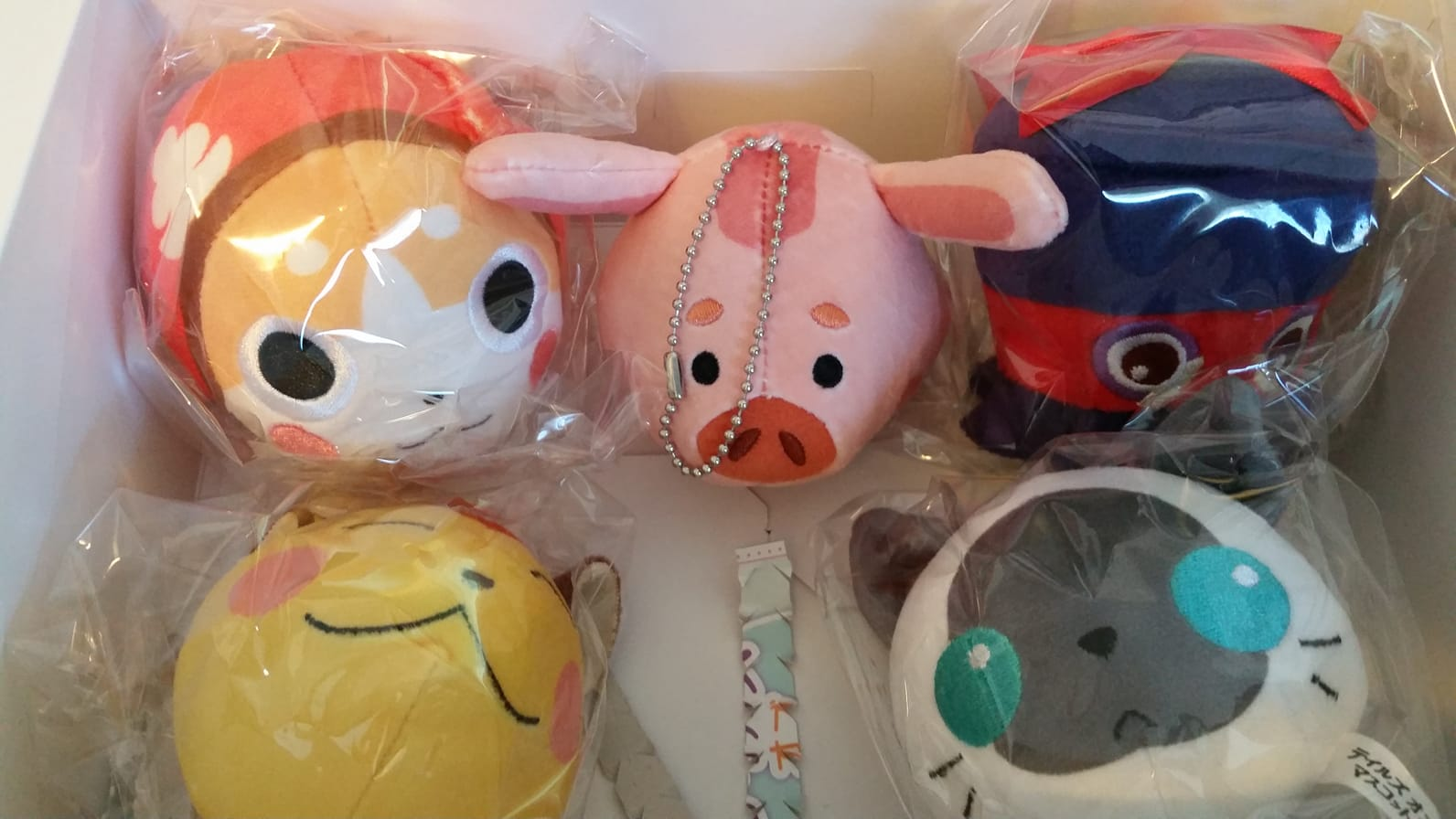Tales of Mascot plushies