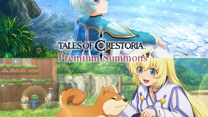 Crestoria Premium Summons Colette and Milkeo