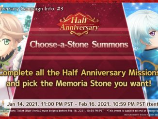 Half Anniversary Choose a Stone