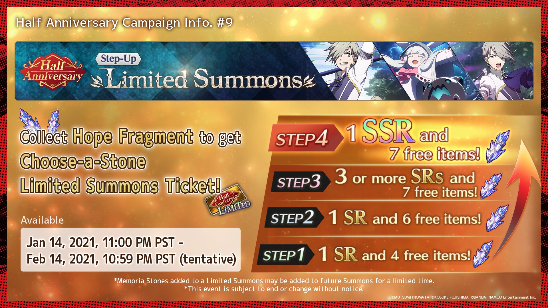 Step Up Limited Summons